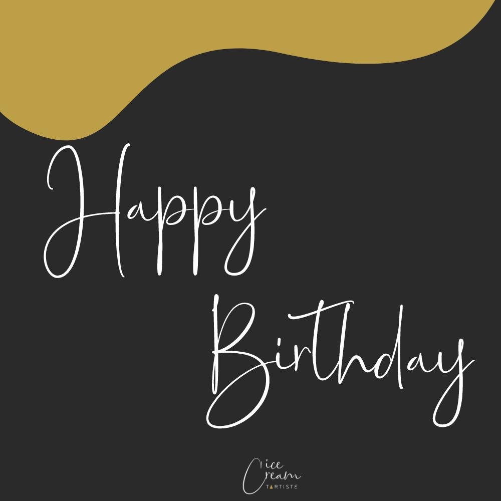 Cadeaubon Happy Birthday