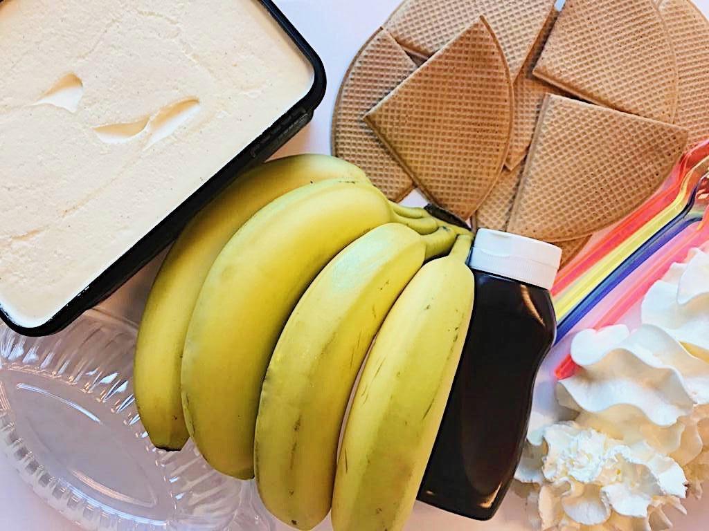 Ice it Yourself Coupe Banana split