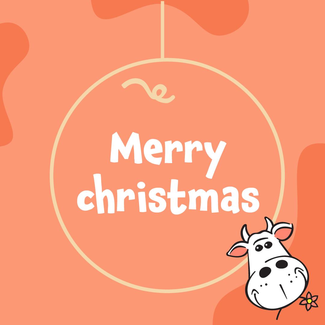 Cadeaubon Merry Christmas