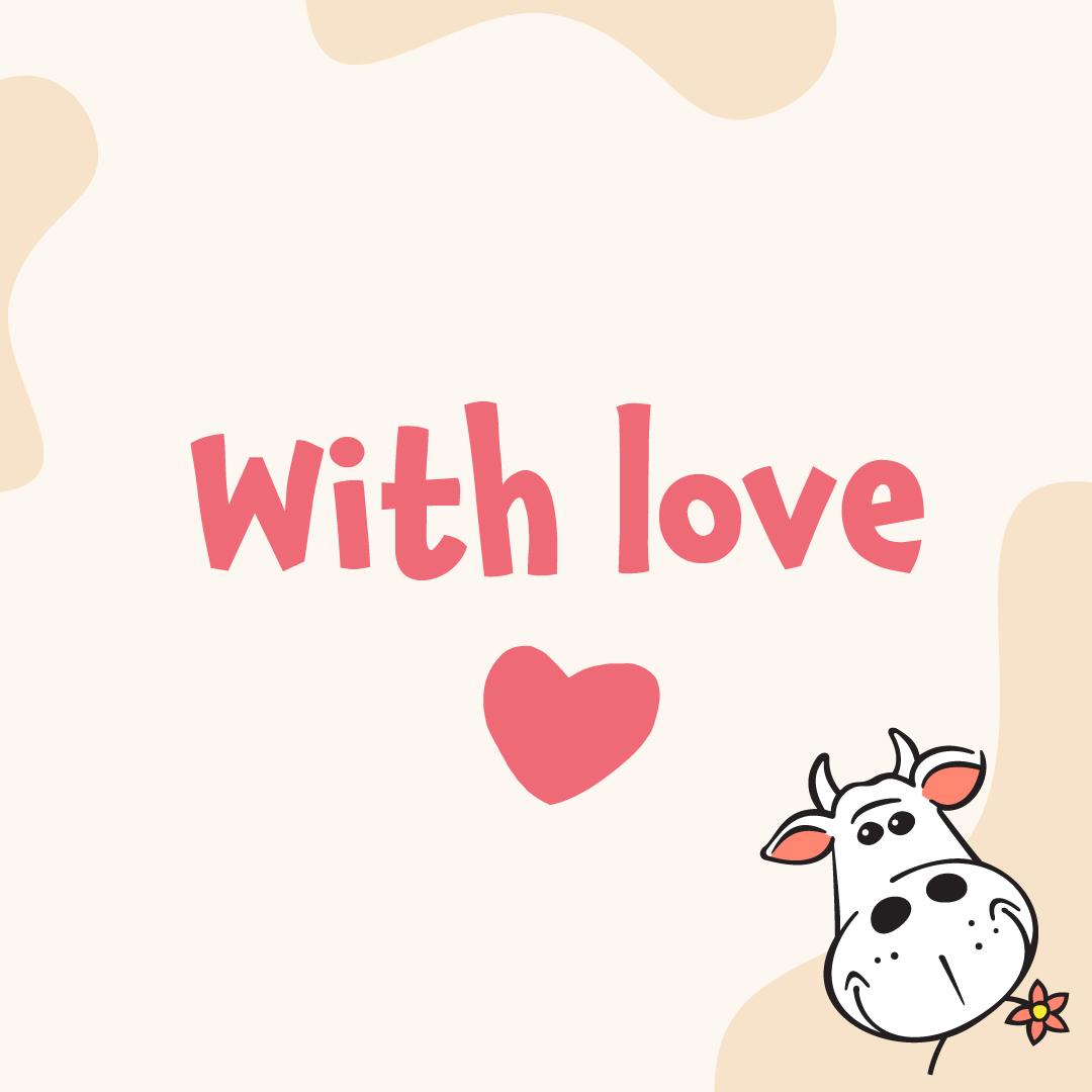 Cadeaubon With Love